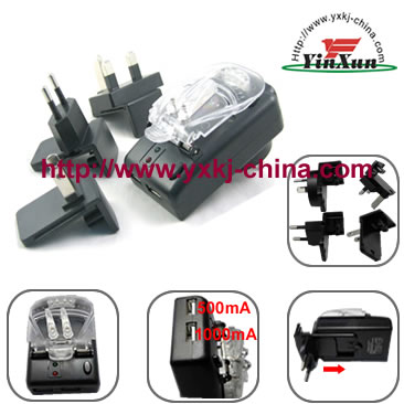 4plug Clip shell charger