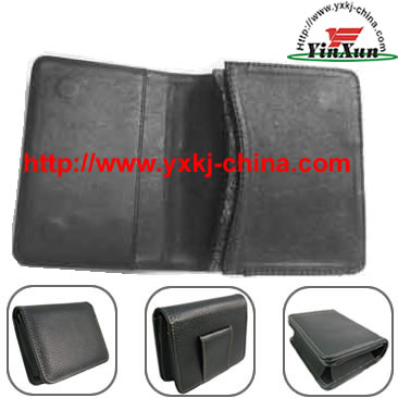 Leather case for GPS Mio c230,Leather case for GPS