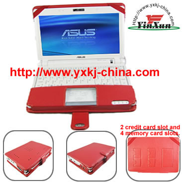 Leather case for Asus eeePC900