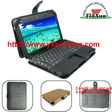 Leather case for MSI Wind U100